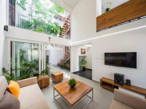 thiết kế nhà theo không gian mở độc đáo (2)