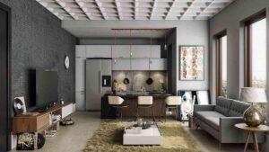 thiết kế nhà theo không gian mở độc đáo (8)