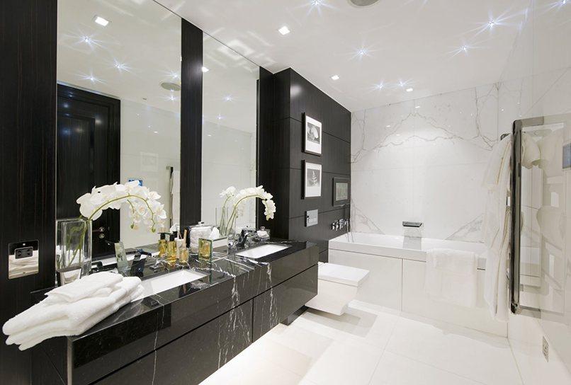 thiết kế nội thất màu đen (1)