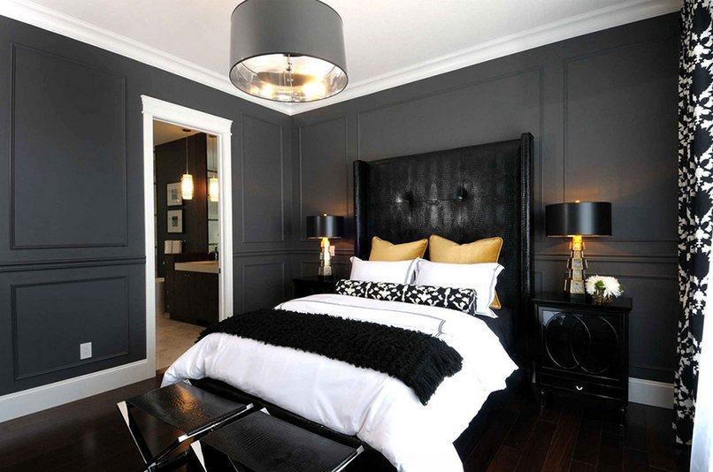 thiết kế nội thất màu đen (2)