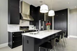 thiết kế nội thất màu đen (3)