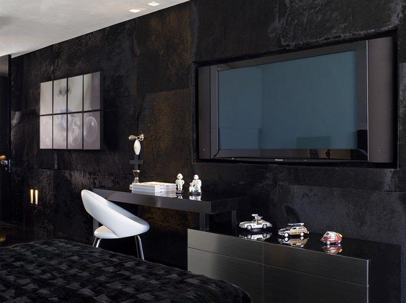thiết kế nội thất màu đen (5)
