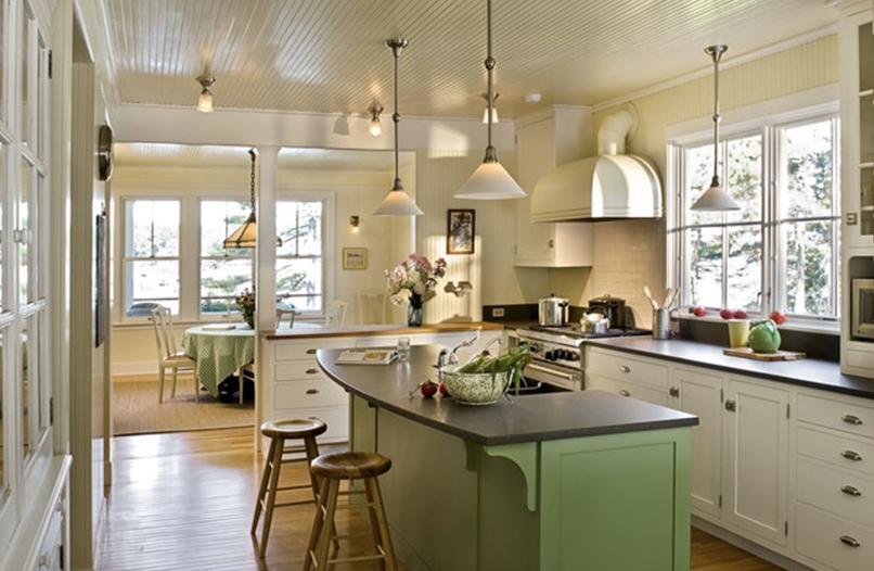 thiết kế phòng bếp và khách (3)