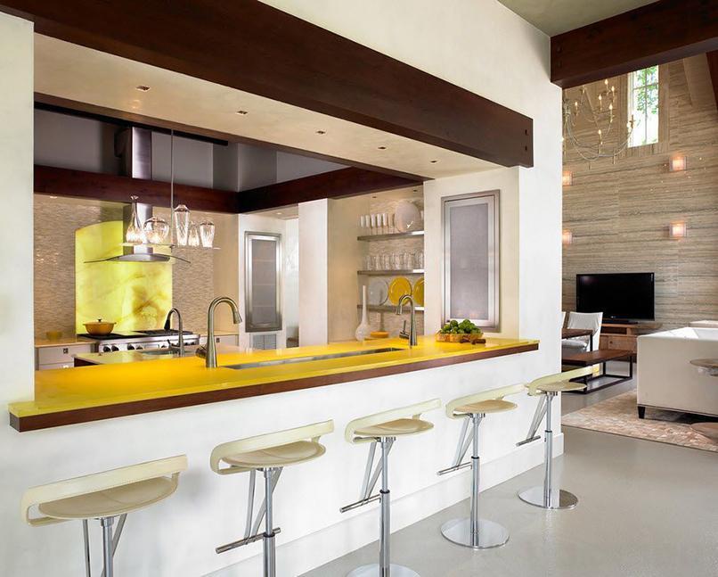 thiết kế phòng bếp và khách (8)