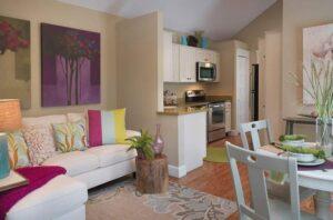 thiết kế phòng bếp và phòng khách đẹp (3)