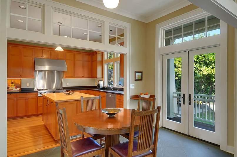 thiết kế phòng bếp và phòng khách đẹp (5)