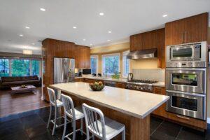 thiết kế phòng khách kết hợp với nhà bếp (10)