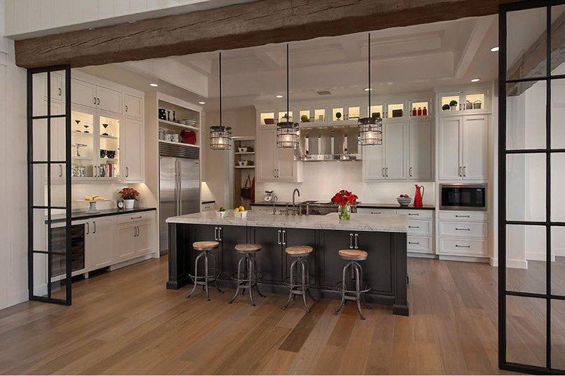 thiết kế phòng khách kết hợp với nhà bếp (3)