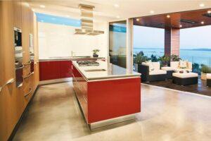thiết kế phòng khách kết hợp với nhà bếp (4)