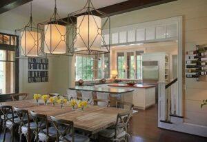 thiết kế phòng khách kết hợp với nhà bếp (9)