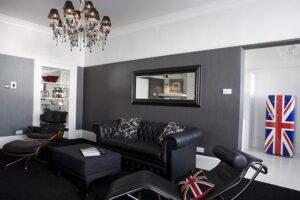 trang trí nội thất màu đen (2)
