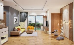 cách bố trí bàn ghế trong phòng khách (10)
