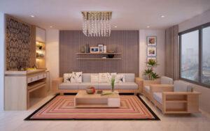 cách bố trí bàn ghế trong phòng khách (12)