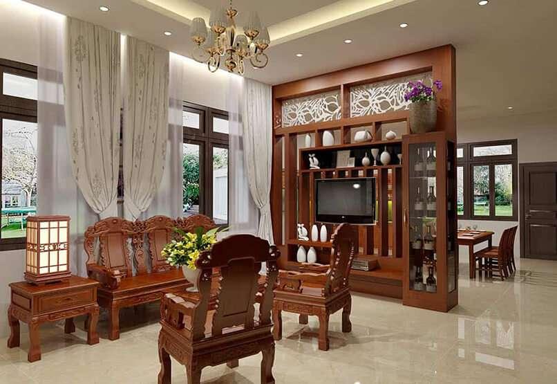 cách bố trí bàn ghế trong phòng khách (15)