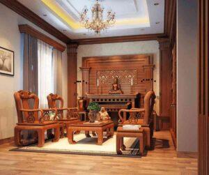 cách bố trí bàn ghế trong phòng khách (16)