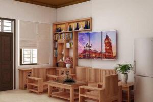 cách bố trí bàn ghế trong phòng khách (3)