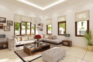 cách bố trí bàn ghế trong phòng khách (5)