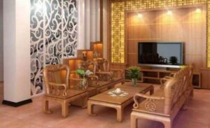 cách bố trí bàn ghế trong phòng khách (7)
