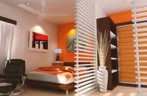 cách làm vách ngăn phòng ngủ đẹp (8)