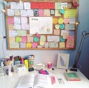 cách trang trí bàn học dễ thương (2) (1)
