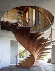 cầu thang nhà phố, biệt thự đẹp (4)