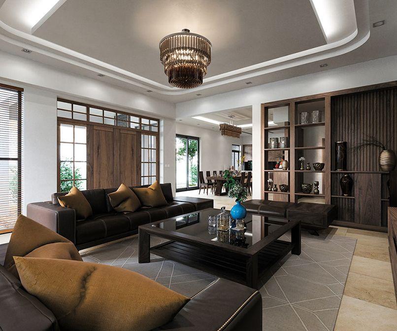 đèn trang trí phòng khách đẹp (1)