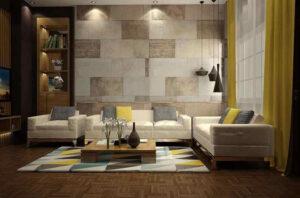 gạch ốp tường trang trí phòng khách (14)