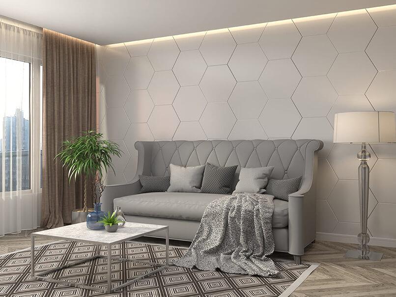 gạch ốp tường trang trí phòng khách (2)