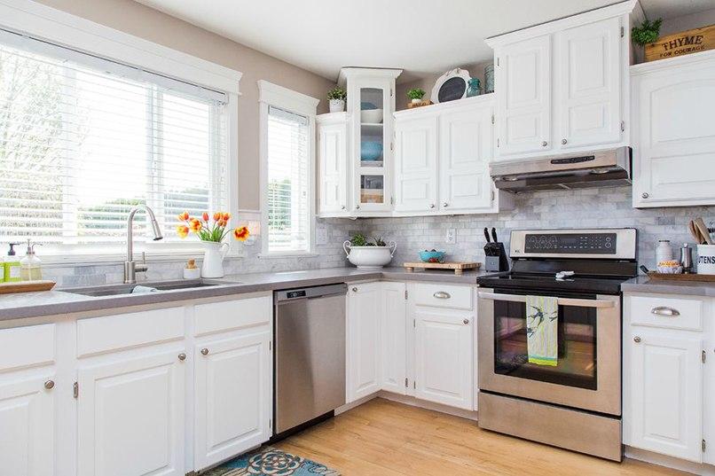 những biến đổi tủ bếp trắng (4)