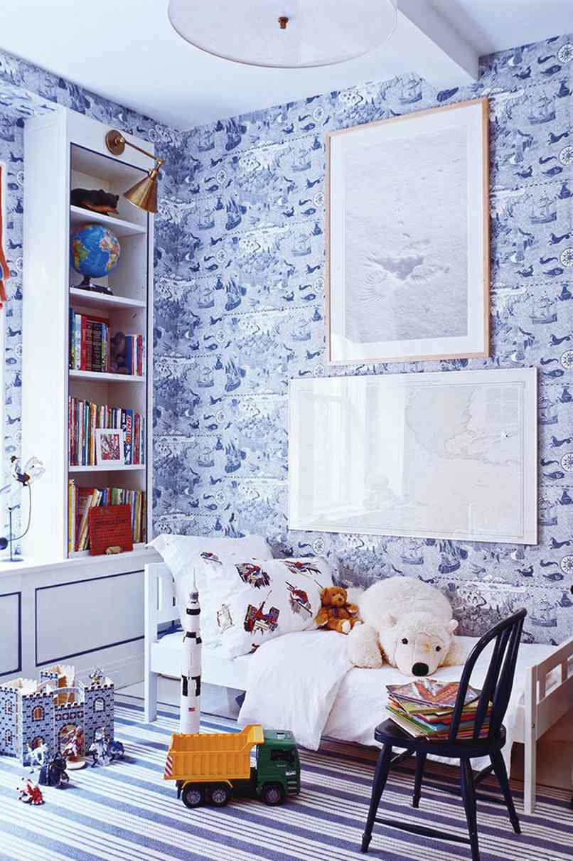 phòng ngủ cho con trai (2)