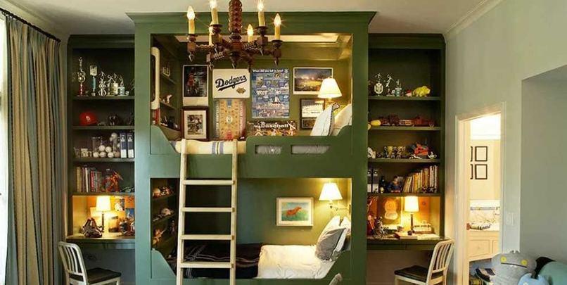 phòng ngủ của bé trai (3)