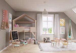 phòng ngủ dành cho trẻ em đẹp (2)
