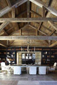 thiết kế trần gỗ đẹp (2)