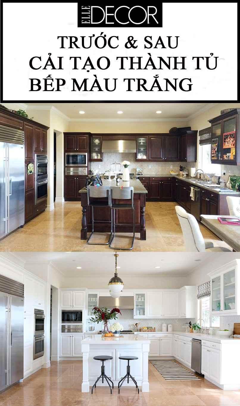 thiết kế tủ bếp trắng (2)