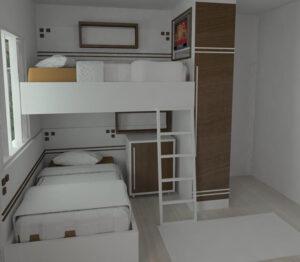 các mẫu giường tầng đẹp nhất (10)