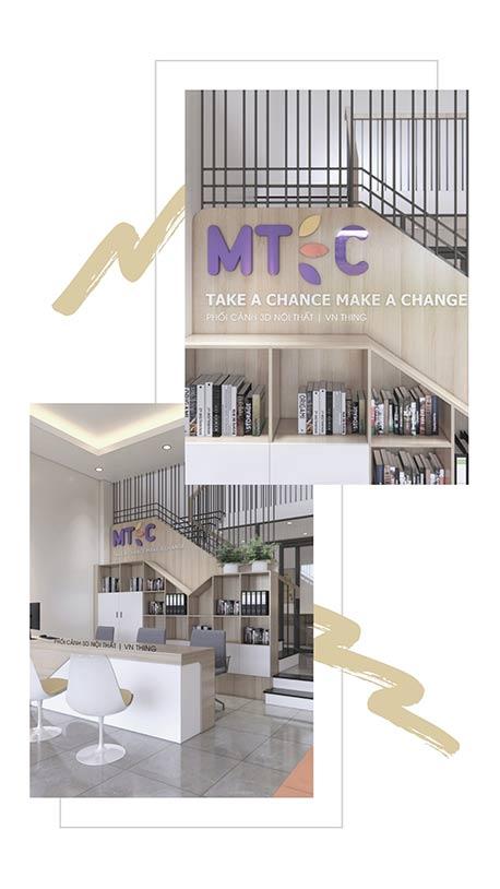 dự án nội thất trung tâm tiếng Anh Đà Nẵng