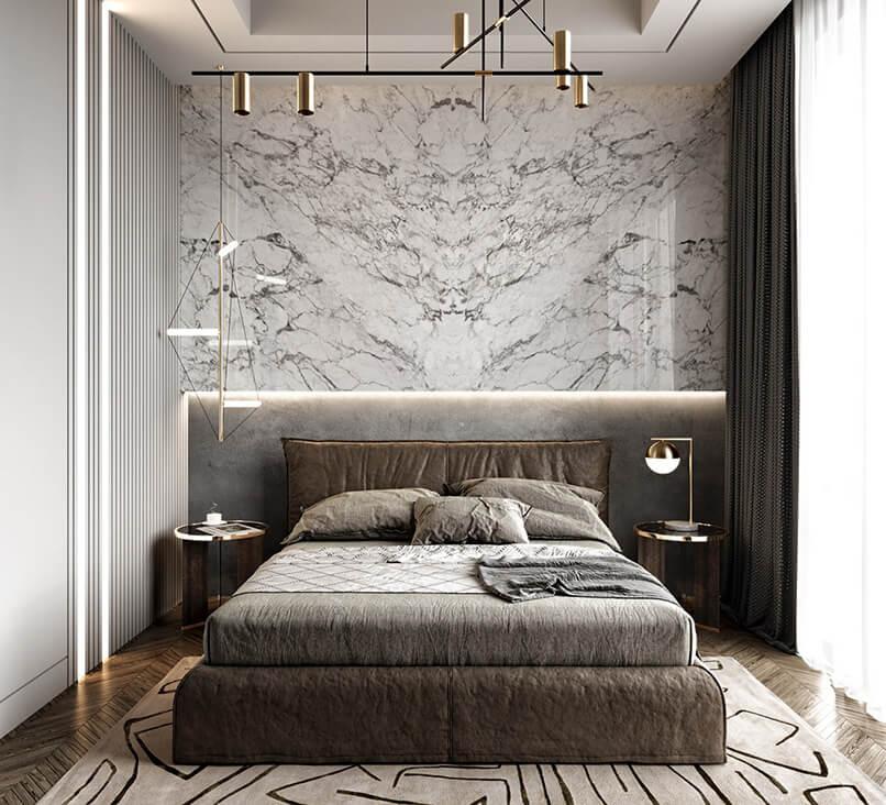 gạch ốp tường phòng ngủ (2)