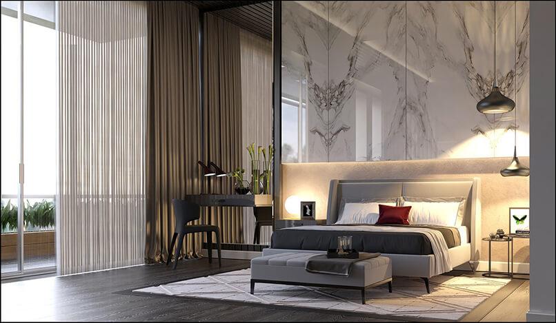 gạch ốp tường phòng ngủ đẹp (2)