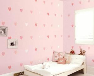 giấy dán tường cho bé gái (4)