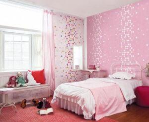giấy dán tường phòng ngủ cho bé gái (10)