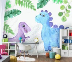 giấy dán tường phòng ngủ cho bé gái (12)
