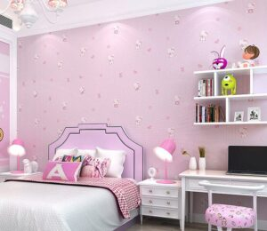 giấy dán tường phòng ngủ cho bé gái (13)