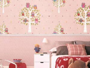 giấy dán tường phòng ngủ cho bé gái (15)