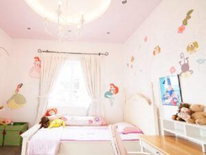 giấy dán tường phòng ngủ cho bé gái (16)