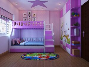giấy dán tường phòng ngủ cho bé gái (18)
