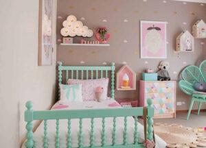 giấy dán tường phòng ngủ cho bé gái (2)
