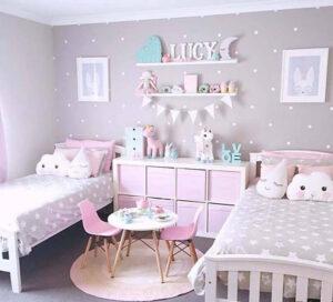 giấy dán tường phòng ngủ cho bé gái (3)