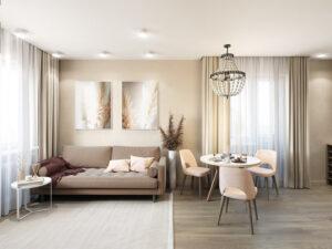 phòng khách chung cư nhỏ (10)