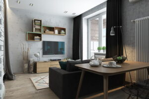 phòng khách chung cư nhỏ (4)