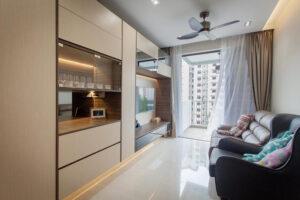 phòng khách nhỏ ở chung cư (1)